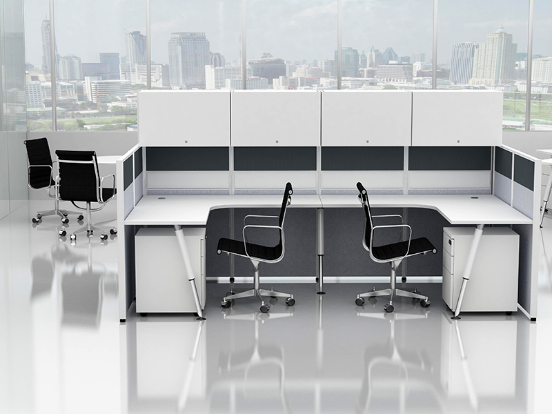 Office Cubicle for 2 Person - BLOCCO-CZ-106-1A