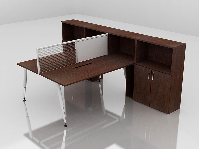 Office Cubicle for 2 Person - BLOCCO-CZ-106-4E