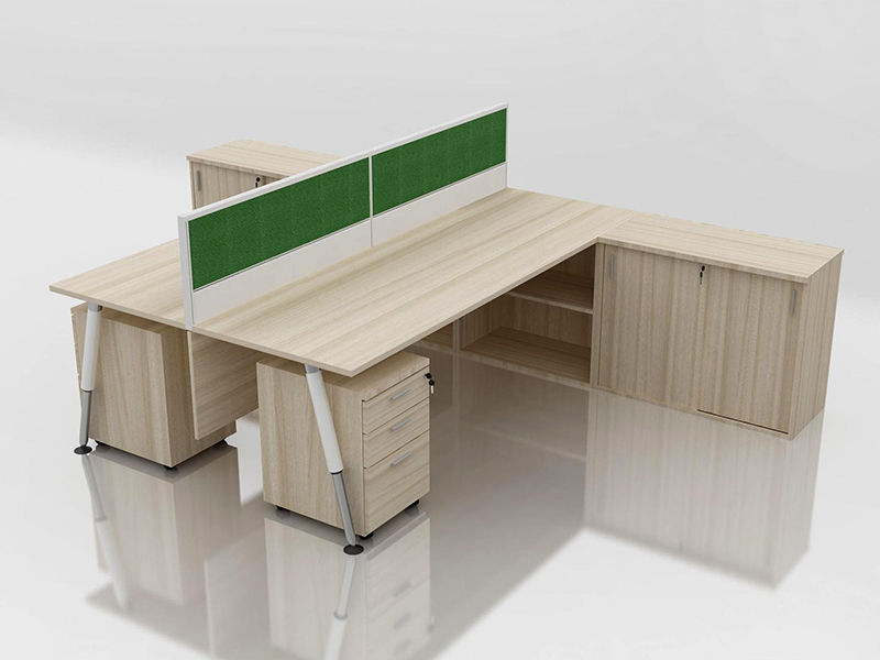Office Cubicle for 2 Person - BLOCCO-CZ-106-4G