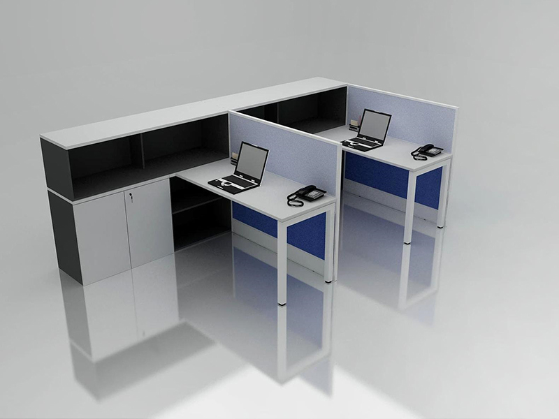 Office Cubicle for 2 Person - BLOCCO-VIVO-2