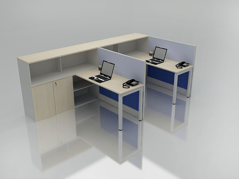Office Cubicle for 2 Person - BLOCCO-VIVO-2B
