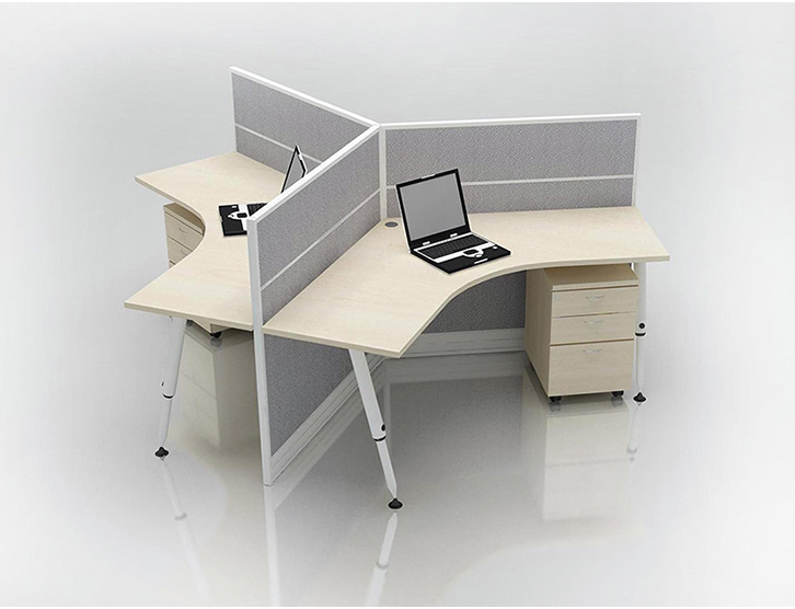 Office Hot Desk - System Furniture Singapore