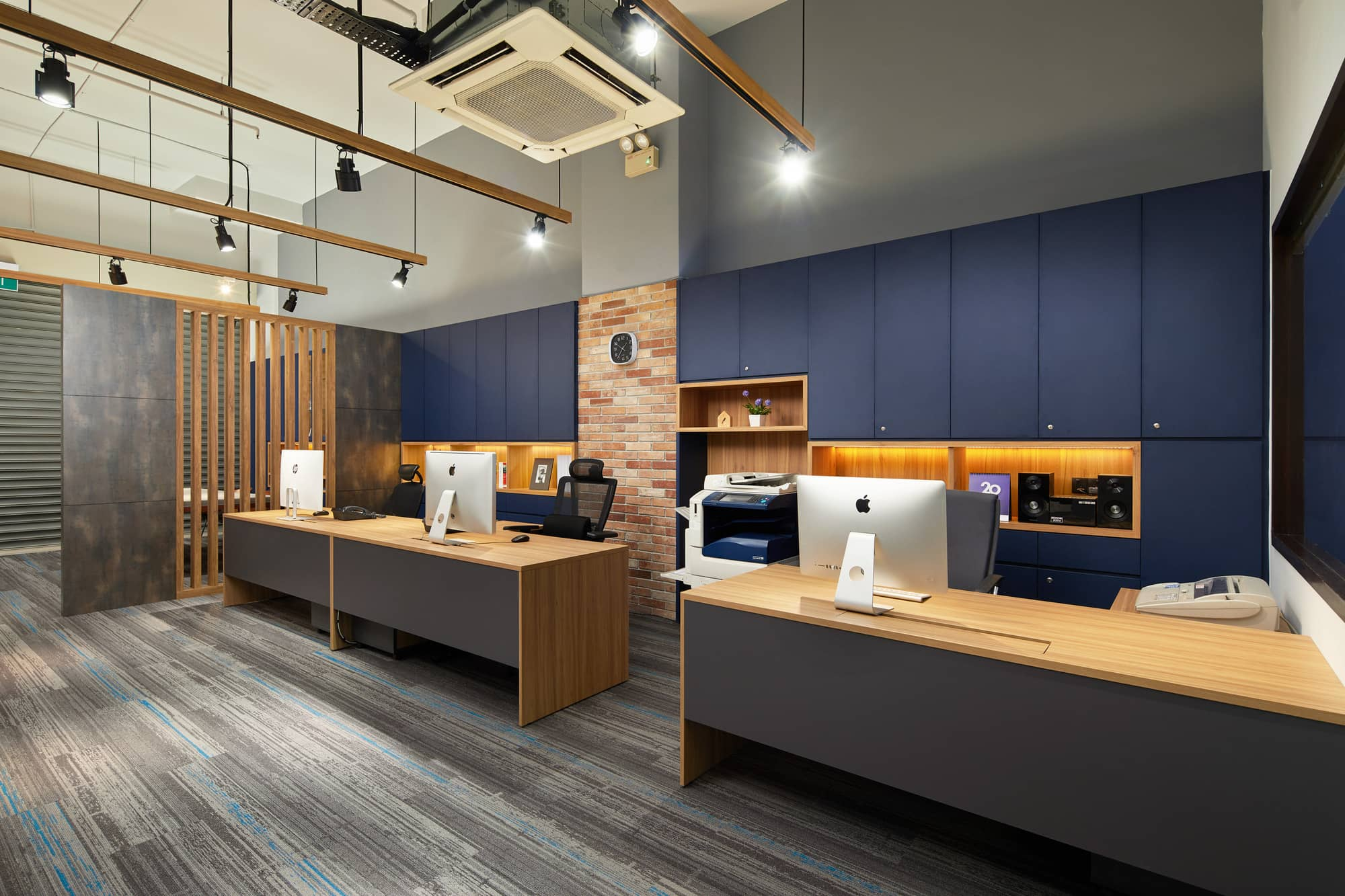 Office Renovation Project Functional Industrial Chic